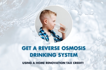 water system tax credit